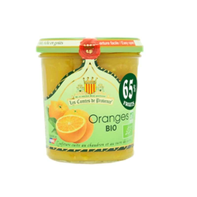 Confiture d'orange BIO, Les comptes de provence (350 g)