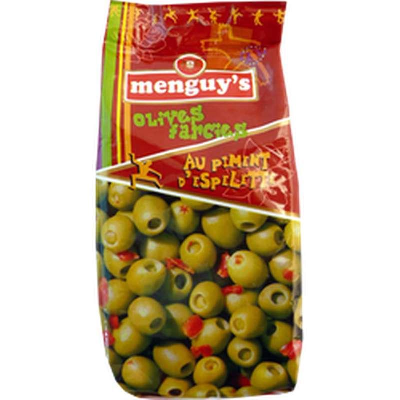 Olives Farcies au piment d'Espelette, Menguy's (150 g)