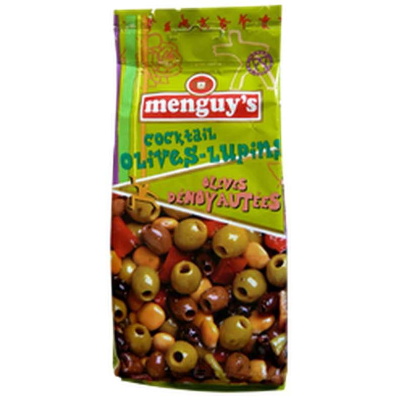 Cocktail Olives dénoyautées, Menguy's (200 g)