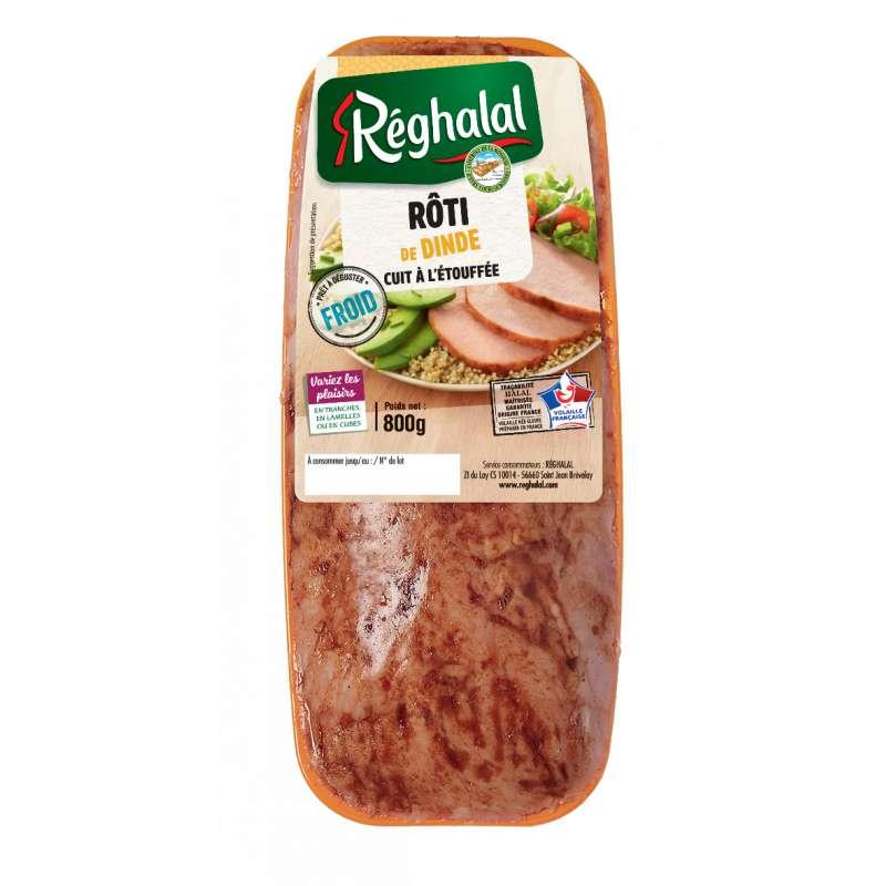 Rôti de dinde cuit à l'étouffée, Reghalal (x 1)