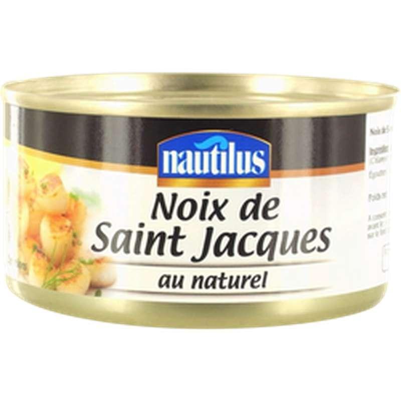 Noix de Saint Jacques au naturel, Nautilus (111 g)