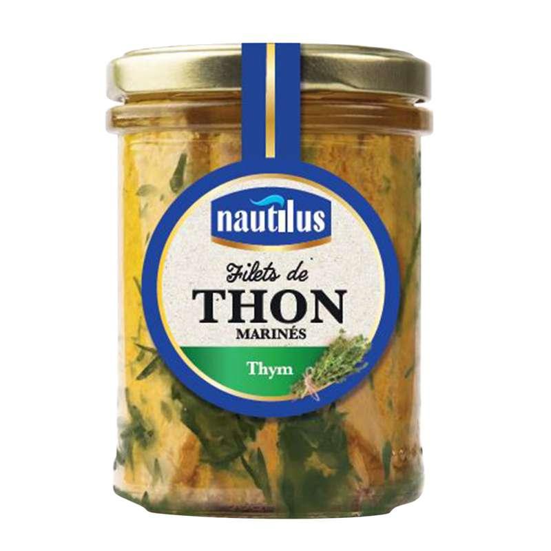 Filets de thon marinés au thym, Nautilus (135 g)