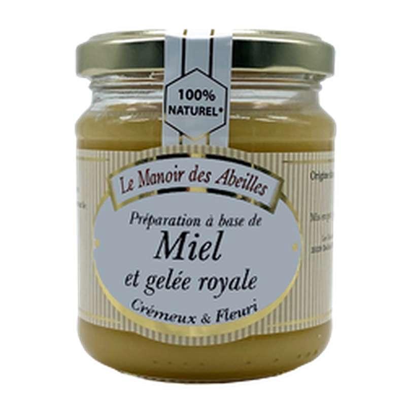 Miel et gelée royale, Le manoir des abeilles (250 g)