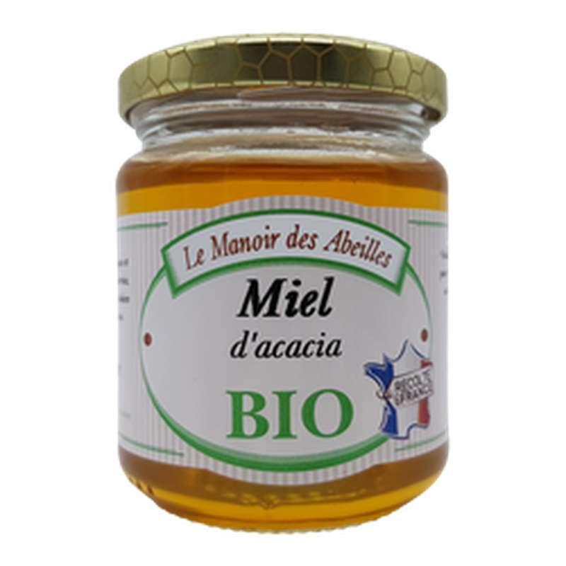 Miel d'acacia BIO, Le manoir des abeilles (250 g)