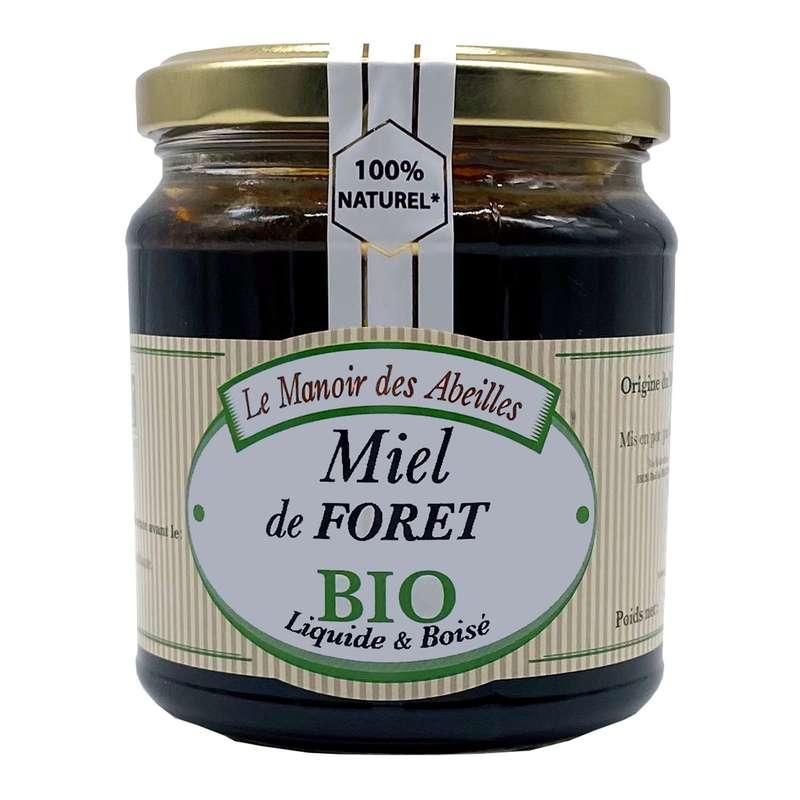 Miel de forêt BIO, Le manoir des abeilles (375 g)