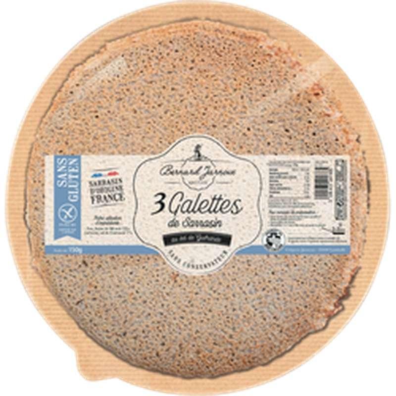 Galettes de sarrasin sans gluten, Bernard Jarnoux (x 3, 150 g)