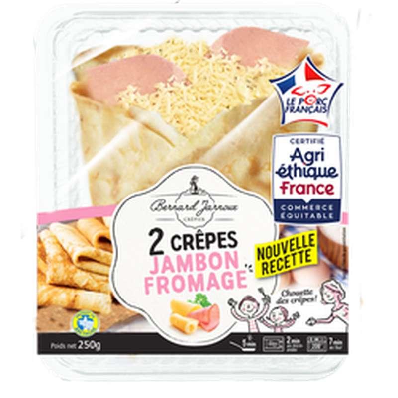 Crêpes jambon fromage, Bernard Jarnoux (x 2, 250 g)