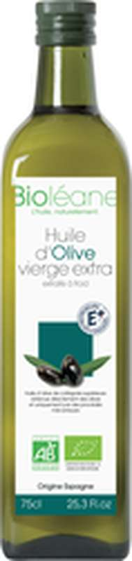 Huile d'olive vierge extra BIO, Bioleane (75 cl)