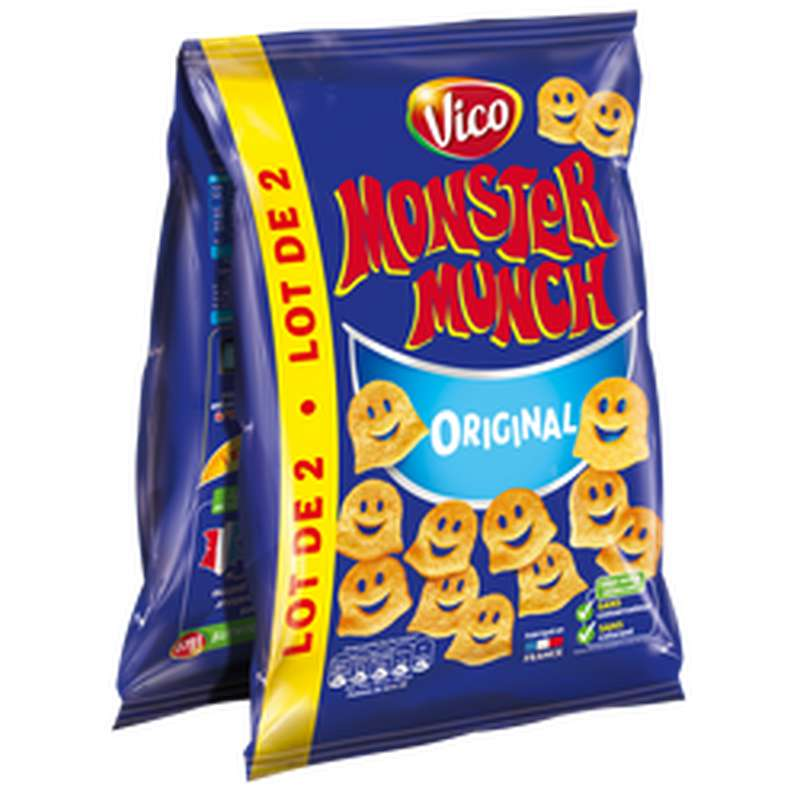 Monster Munch Salé, Vico (2 x 85 g)