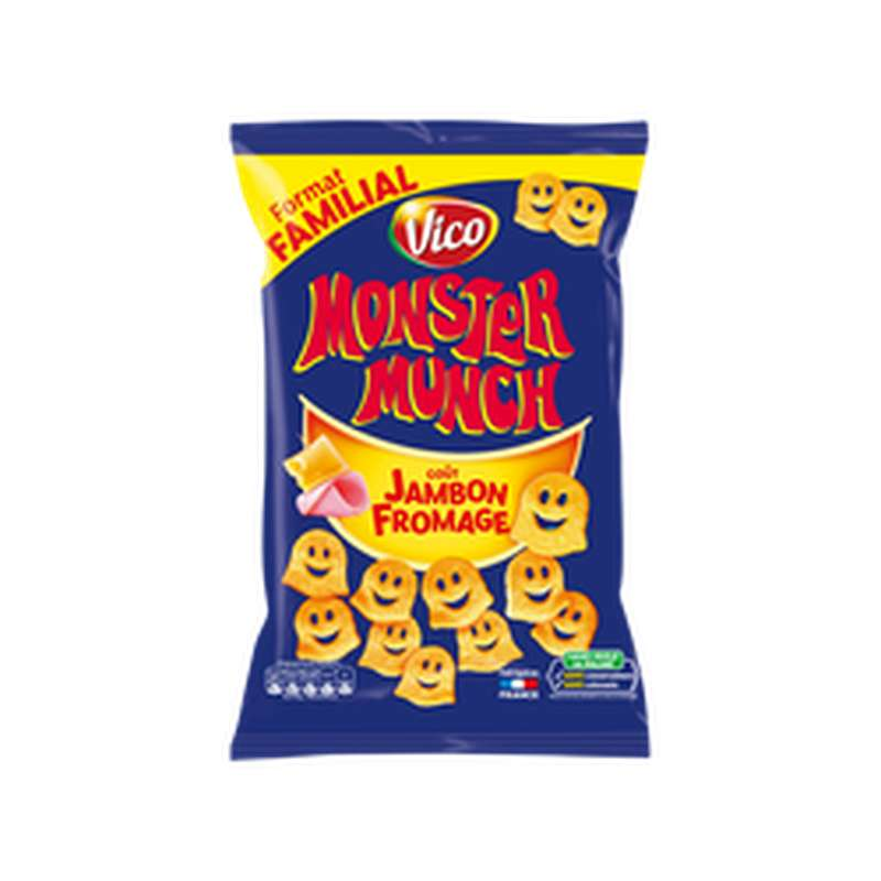 Monster Munch Jambon fromage, Vico (135 g)