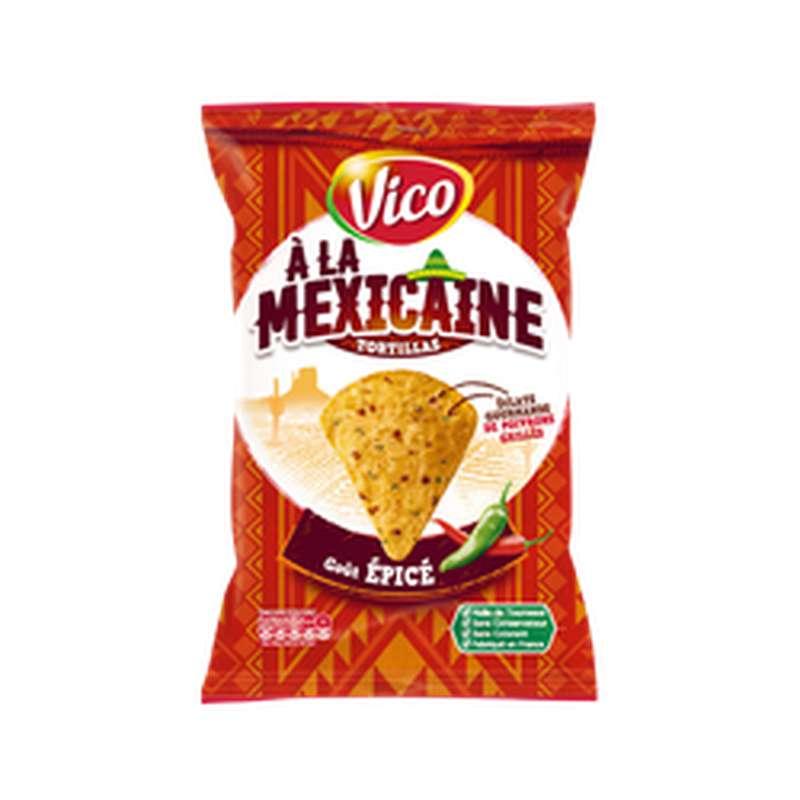 Tortilla à la Mexicaine goût épicé, Vico (150 g)