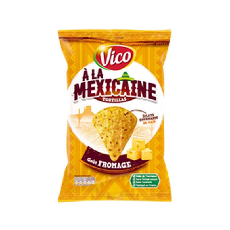 Tortilla à la Mexicaine goût fromage, Vico (150 g)