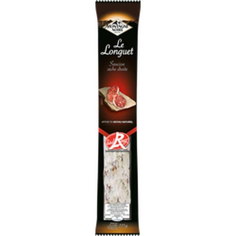 Saucisse sèche droite Label Rouge, Montagne Noire (225 g)