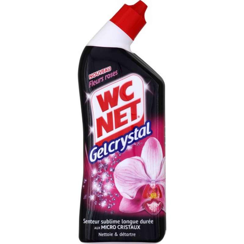 Gel WC gelcrystal fleurs roses, WC Net (750 ml)