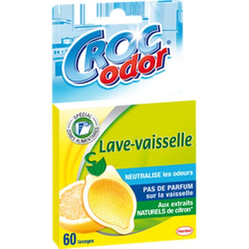 Neutraliseur d'odeurs pour lave-vaiselle, Croc Odor