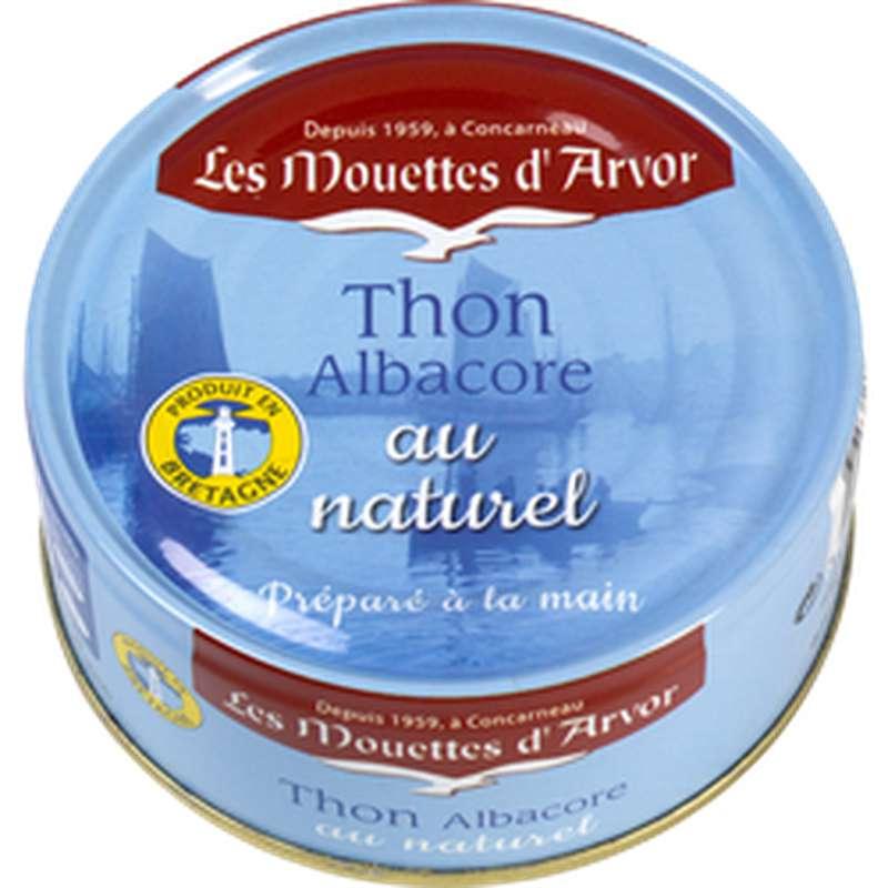 Thon Albacore au naturel, Les Mouettes d'Arvor (112 g)