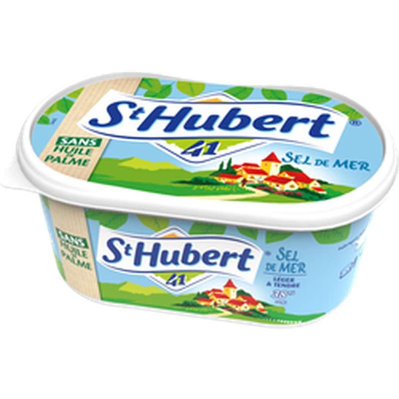 Margarine demi-sel sans huile de palme, St Hubert 41 (500 g)