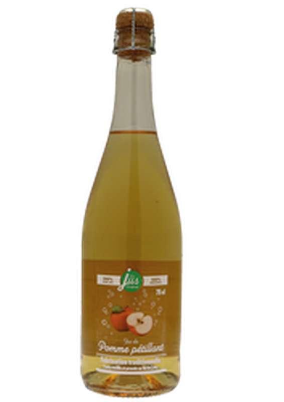 Pur jus de pomme pétillant, Covifruit (75 cl)