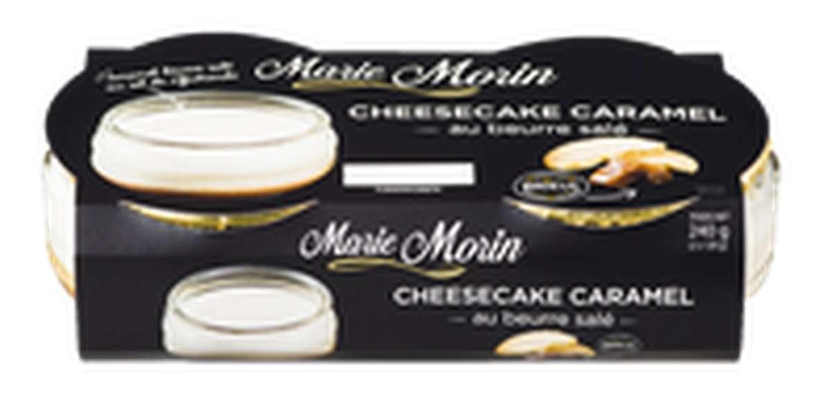 Cheesecake Caramel au beurre salé, Marie Morin (2 x 120 g)