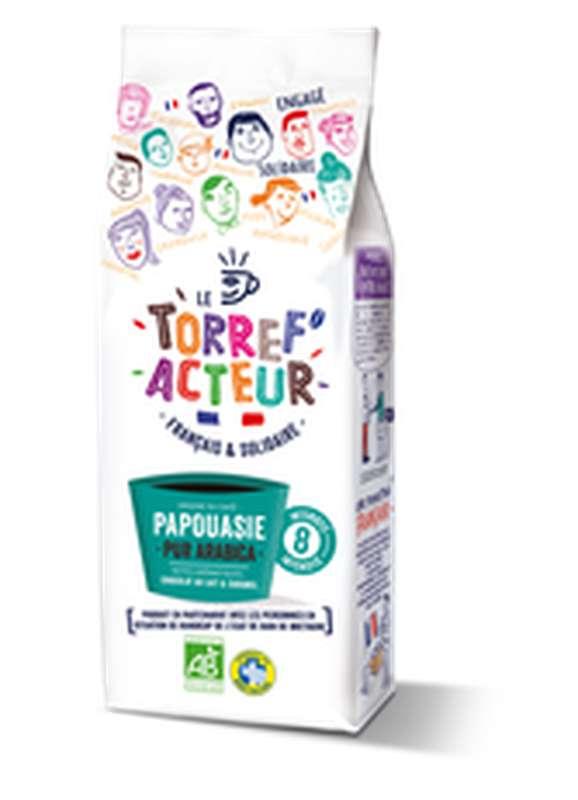 Café moulu origine Papouasie BIO, Le Torref'acteur (225 g)