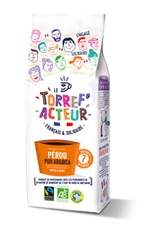 Café moulu origine Pérou BIO, Le Torref'acteur (225 g)