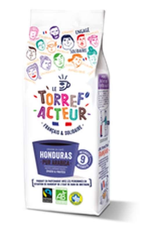 Café moulu origine Honduras BIO, Le Torref'acteur (225 g)