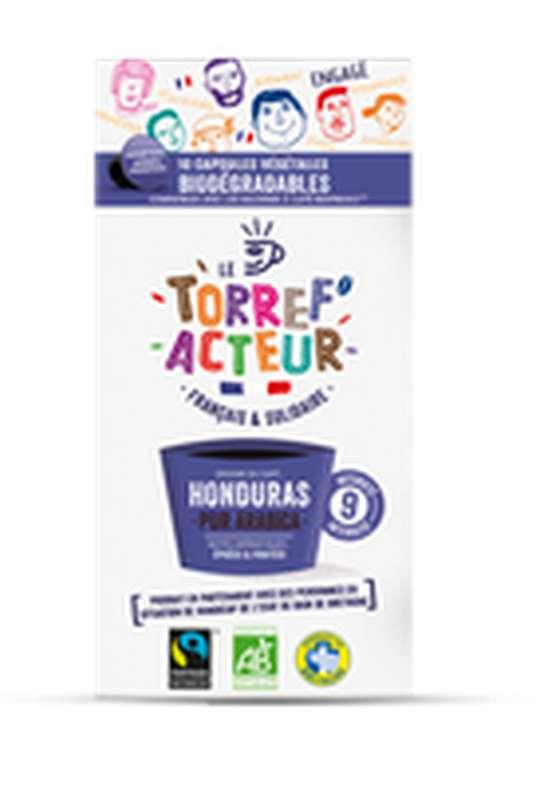 Café capsule Honduras compatibles Nespresso BIO, Le Torref'acteur (x 10, 50 g)