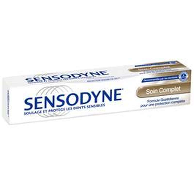 Dentifrice Soin complet, Sensodyne (75 ml)