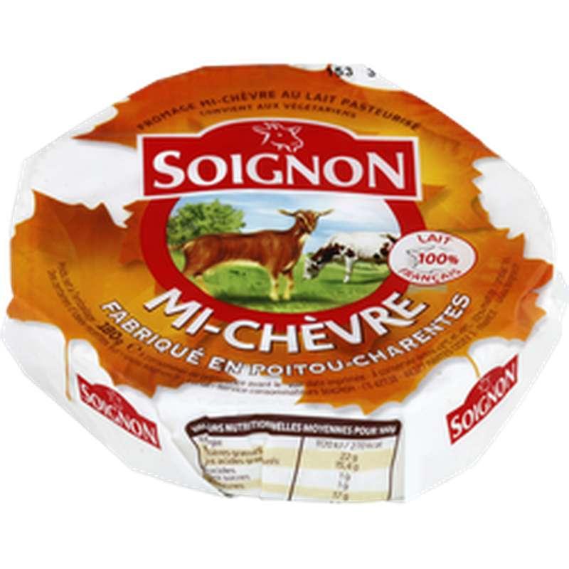 Mi-Chèvre au lait pasteurisé, Soignon (180 g)