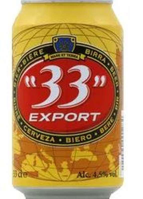 33 Export 4,5° (33 cl)