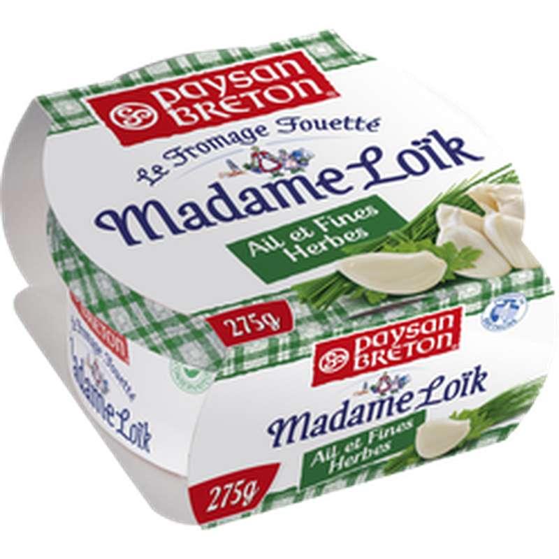 Madame Loïk ail et fines herbes, Paysan Breton (275 g)