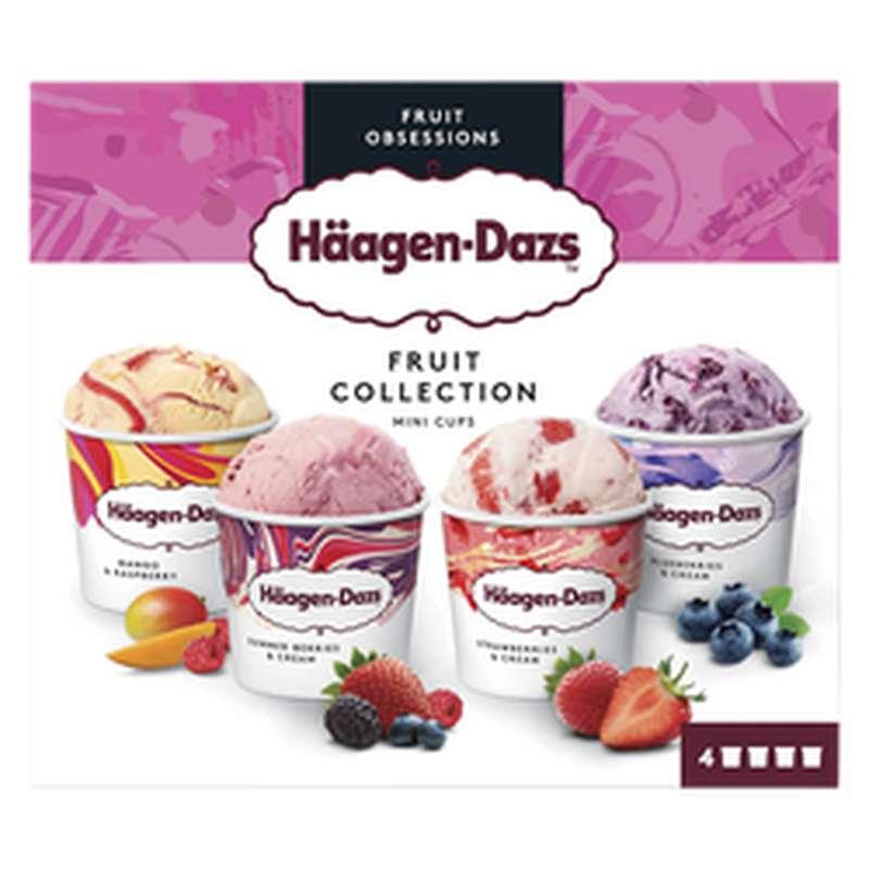 Mini-cup Fruit Collection, Häagen Dazs (326 g)