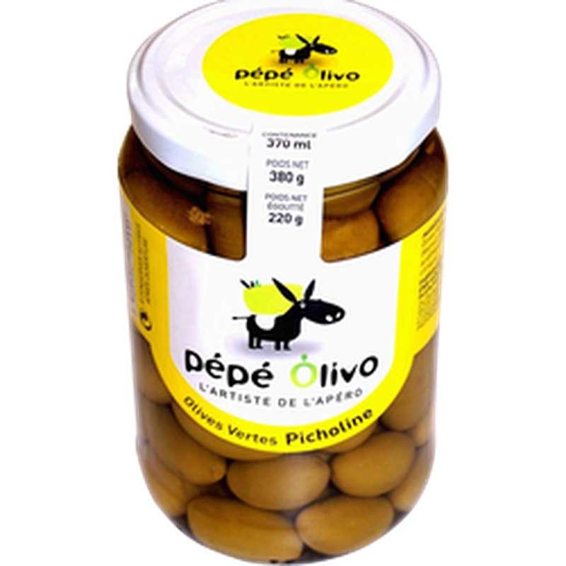Olives vertes Picholines, Pepe Olivo (220 g)