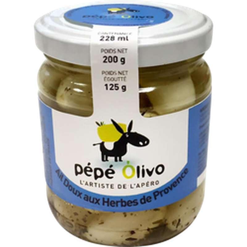 Ail doux aux herbes de provence, Pepe Olivo (125 g)