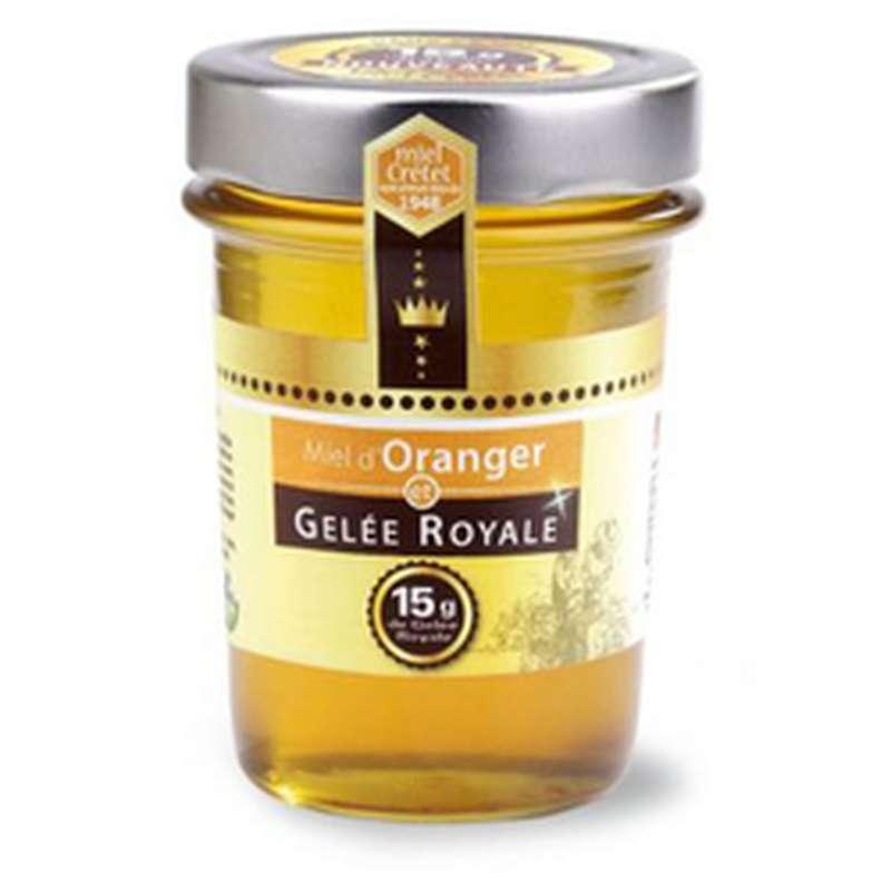 Miel d'oranger et gelée royale, Miel Cretet (250 g)