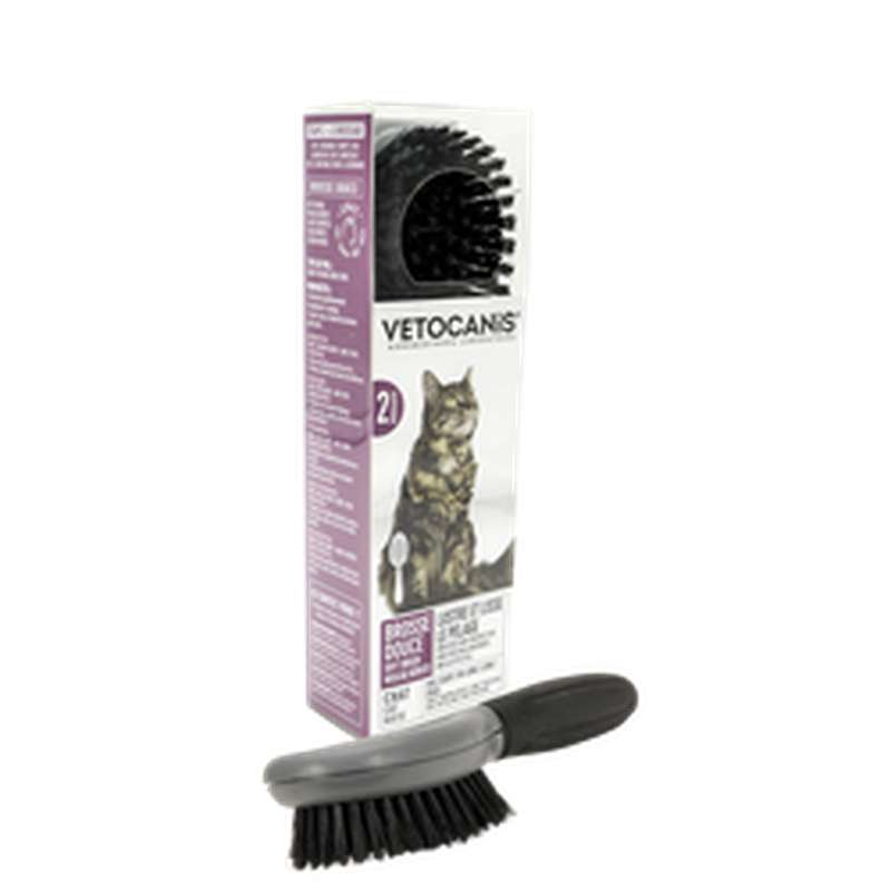 Brosse douce pour chat, Vetocanis (x 1)