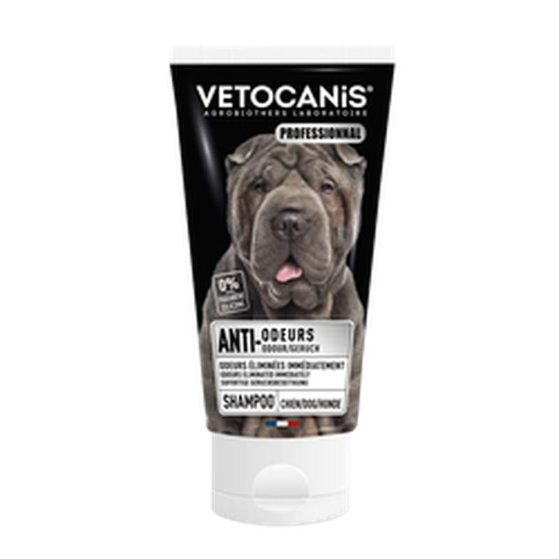Shampoing anti odeur pour chien, Vetocanis (300 ml)