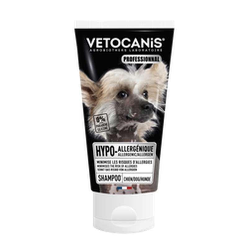 Shampoing hypoallergénique pour chien, Vetocanis (300 ml)