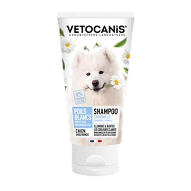 Shampoing pour chien aux poils clairs, Vetocanis (300 ml)