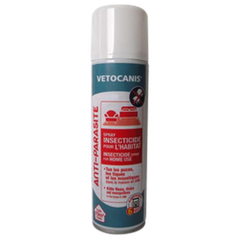 Insecticide habitat anti-parasites, Vetocanis (250 ml)