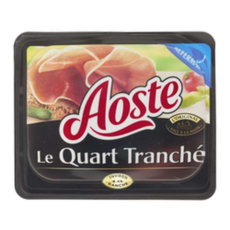 Jambon cru Le Quart tranché, Aoste (18 tranches, 220 g)