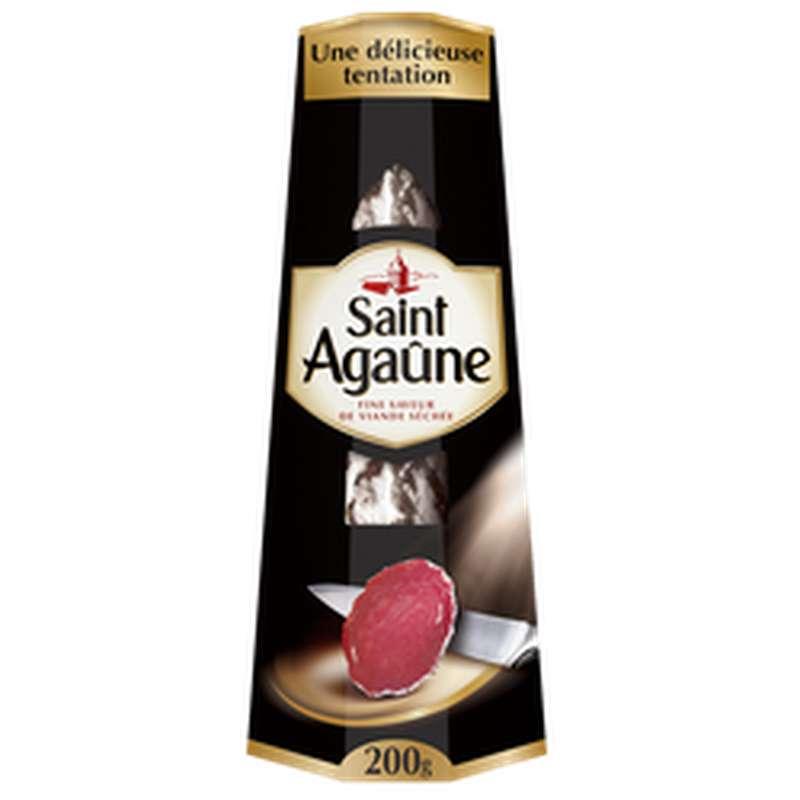 Saucisse sèche, Saint Agaune (200 g)