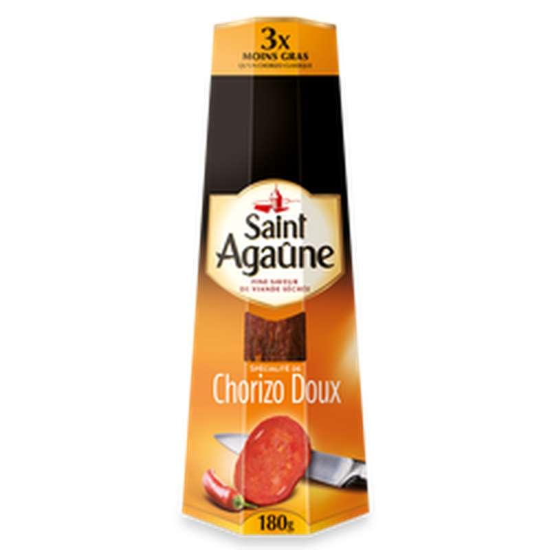 Chorizo doux, Saint Agaune (180 g)