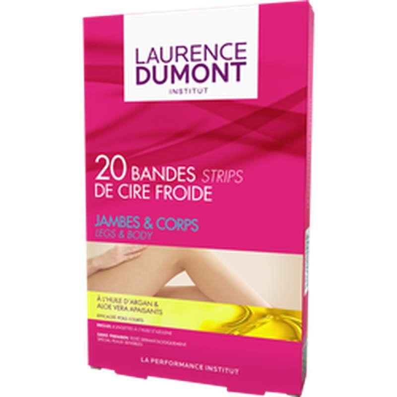 Bandes de cire froide pour le corps, Laurence Dumont (x 20)