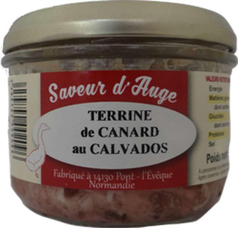 Terrine de canard au Calvados, Saveur d'Auge (180 g)