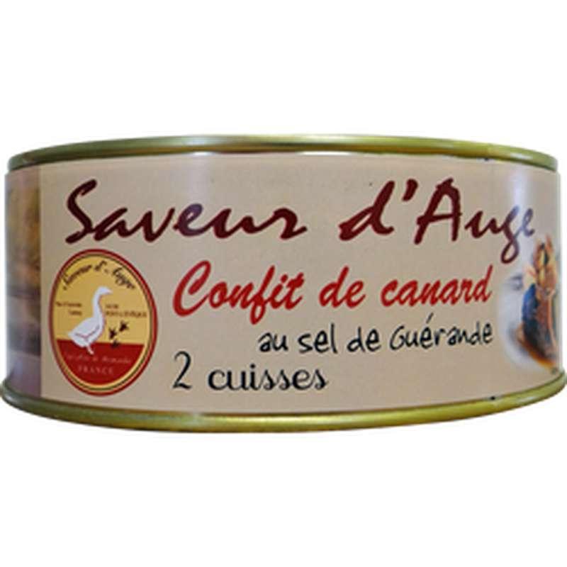Confit de canard 2 cuisses, Saveur d'Auge (750 g)