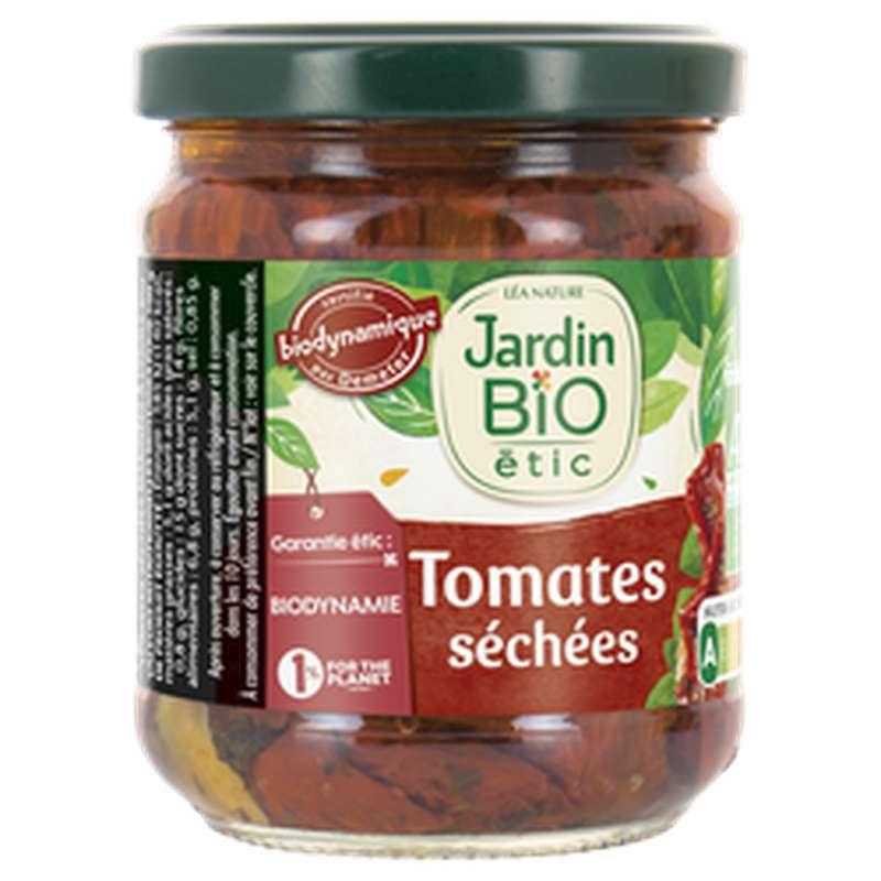 Tomates séchées marinées à l'huile BIO, Jardin Bio étic (190 g)