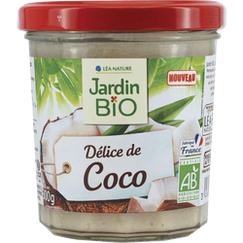 Spécialité à tartiner Délices de coco BIO, Jardin Bio (300 g)
