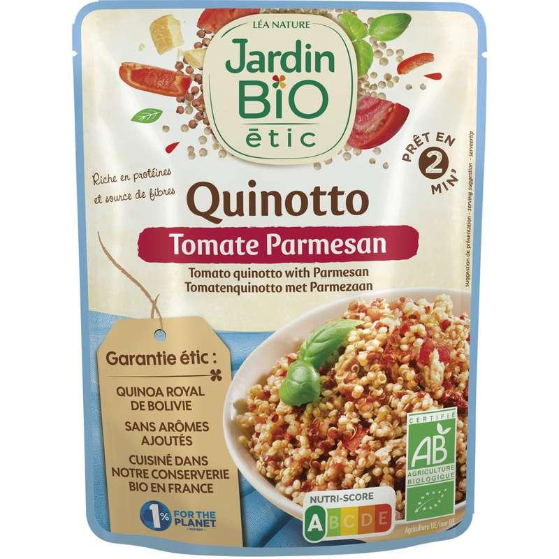 Plat préparé quinoa tomate parmesan BIO, Jardin Bio (220 g)