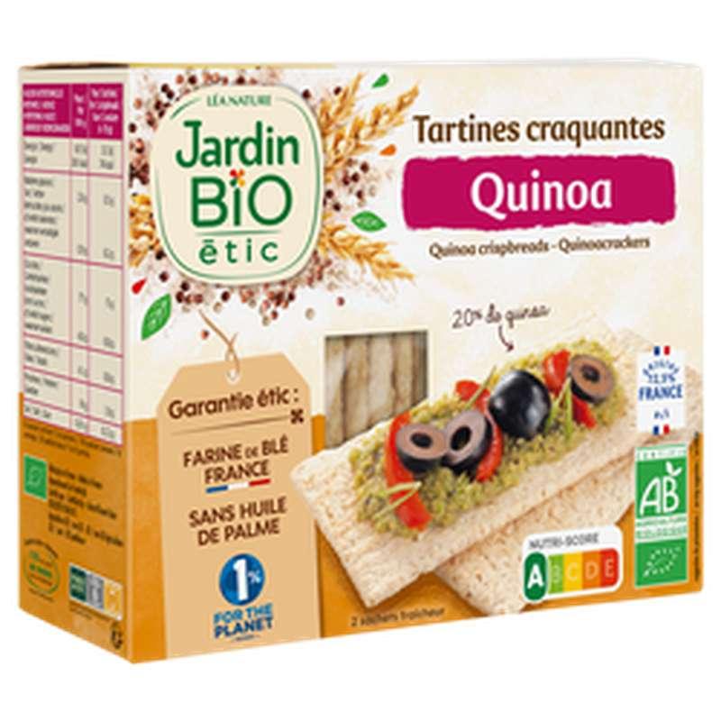 Tartines craquantes au quinoa BIO, Jardin Bio étic (150 g)